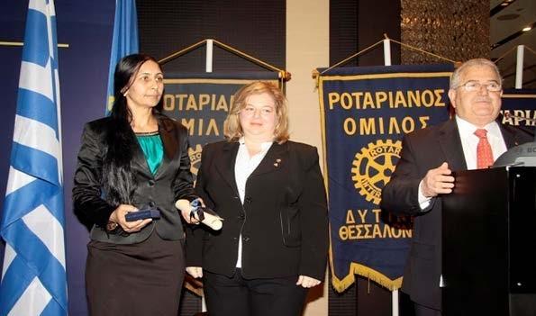 Στις 7 Απριλίου 2013, η πρόεδρος του Συλλόγου κα Σαμπιχά Σουλεϊμάν στη Θεσσαλονίκη